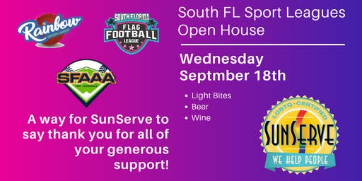 SunServe's: Sport Leagues  Open House