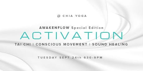 Activation - Tai Chi Movement Meditation & Sound Healing Experience tickets