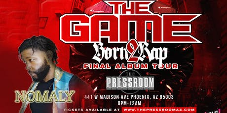The Game Born 2 Rap Final Album Tour tickets