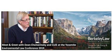Berkeley Law Yosemite Conference Reception with Dean Chemerinsky tickets