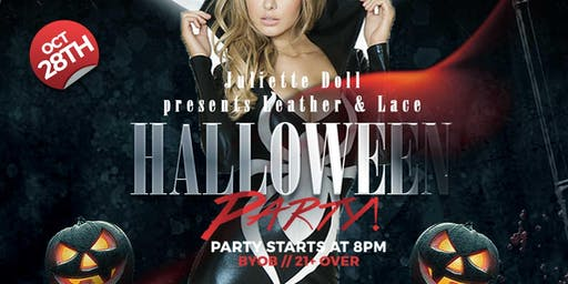 Leather and Lace Halloween Party!