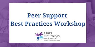 Child Neurology Foundation Peer Support Specialist Workshop