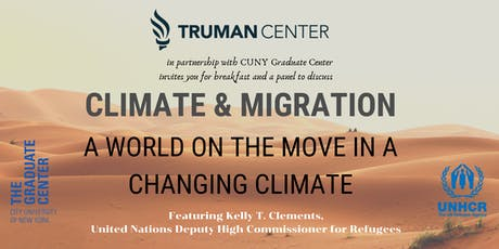 Climate and Migration: A World on the Move in a Changing Climate tickets