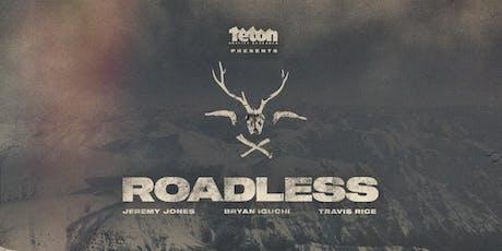 Teton Gravity Research: Roadless tickets