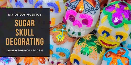 Sugar Skull Decorating : Dia De Los Muertos