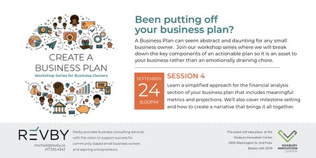 Been Putting Off Your Business Plan? tickets