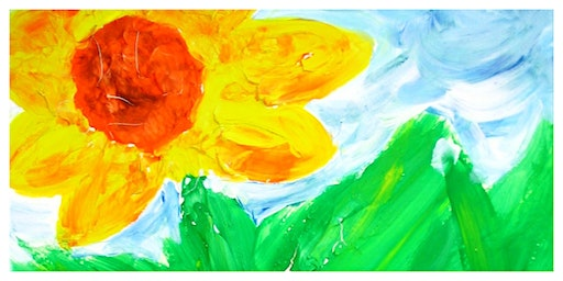 Mommy's Time Off- Canvas & Cookies: Van Gogh's Sunflower (3-9 Years)