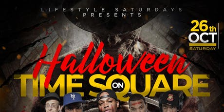 "Lifestyle Saturdays: ""Halloween On Times Square"" With Hennessy Open Bar tickets"