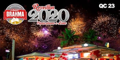Reveillon Chopp Brahma Copacabana 2020 QC 23 ingressos