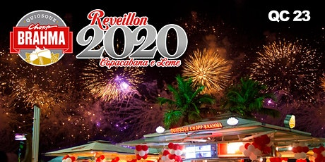 Reveillon Chopp Brahma Copacabana 2020 QC 23 tickets