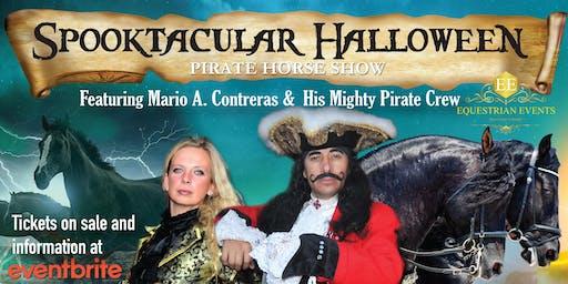 Spooktacular Halloween Pirate Horse Show