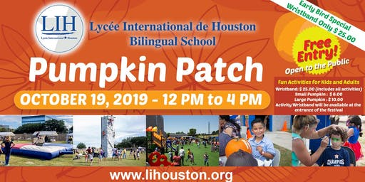 LIH Pumpkin Patch Festival