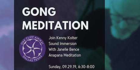 Anapana Meditation/ Sound Immersion with Janelle Bence and Kenny Kolter tickets