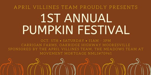 April Villines Team 1st Annual Pumpkin Festival