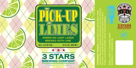 3 Stars Pick-Up Limes Launch Party & Pig Roast tickets