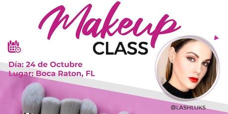 Curso de Maquillaje - Boca Raton, FL tickets