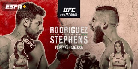 UFC Fight Night 159 - Rodriguez vs Stephens tickets