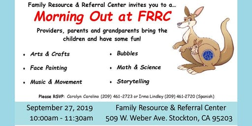 Kangaroo Playgroup-Morning Out at FRRC