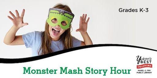 Monster Mash Story Hour (K-3rd)