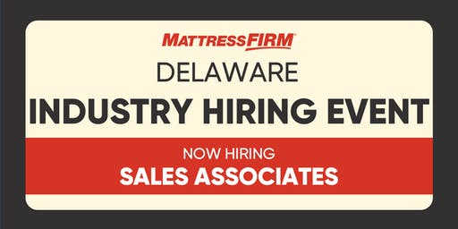 Industry Hiring Event - Don't snooze on this opportunity to join us!