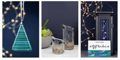 Fused glass workshop Thursday 17th Nov 12-2pm complimentary glass of prosecco