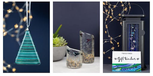 Fused glass workshop Sunday 17th Nov 12-2pm complimentary glass of Prosecco
