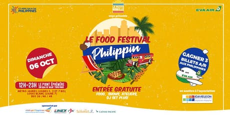Le Food Festival Philippin billets