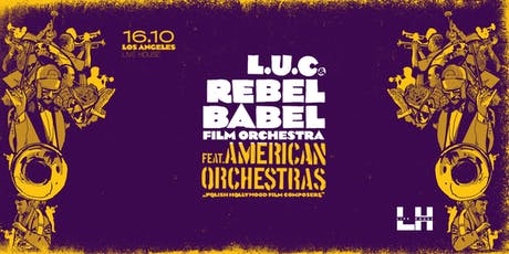 Rebel Babel Orchestra tickets