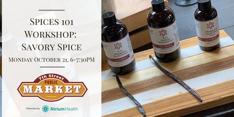 Spices 101 Workshop: Savory Spice tickets