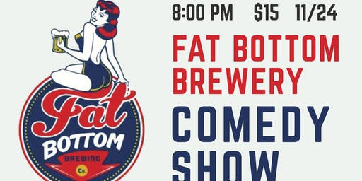 Fat Bottom Comedy Hour Special Edition: Collin Chamberlin and Friends