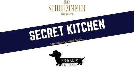 Secret Kitchen : September Limited Edition x Frank's tickets