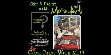 Paint and Sip with Mo tickets