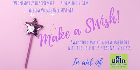 Make A SWish! (Afternoon Ticket 2-4pm £10) tickets