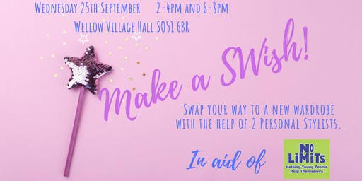 Make A SWish! (Afternoon Ticket 2-4pm £10)