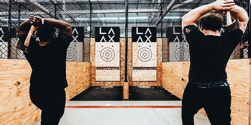 Axe Throwing with Bungalow!