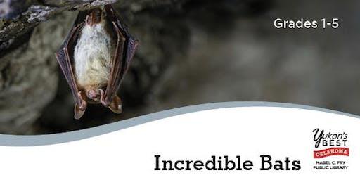 Incredible Bats (Grades 1-5)