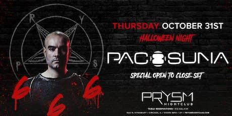666: PACO OSUNA (OPEN TO CLOSE SET) tickets