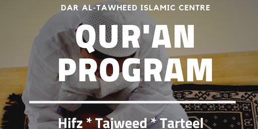 Weekend Qur'an Program