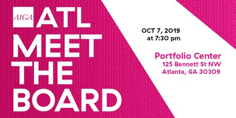 AIGA ATL Meet the Board – OCT 2019 tickets