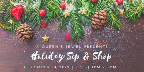 Holiday Sip & Shop tickets