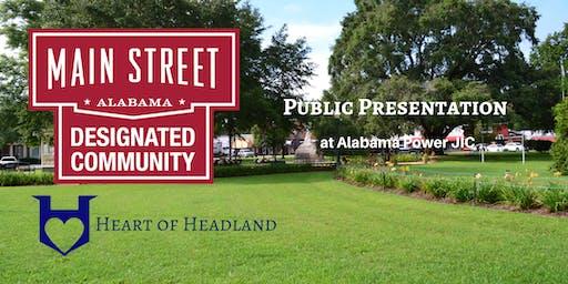 Headland Main Street Public Presentation