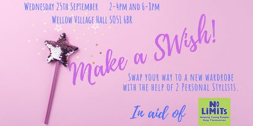 Make A SWish! (6-8pm EVENING EVENT £10)