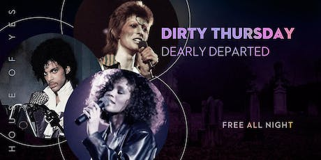 Dirty Thursday: Dearly Departed tickets