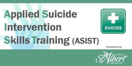 Applied Suicide Intervention Skills Training tickets