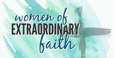 Women of Extraordinary Faith tickets
