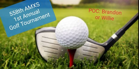 558th AMXS 1st Annual Golf Tournament tickets