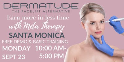 FREE Meta Therapy Training with Dermatude!