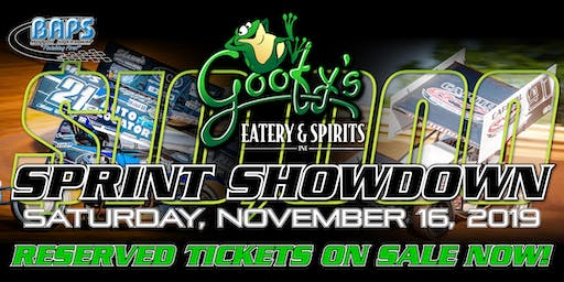 Goofy's Eatery & Spirits 410 Sprint Car Showdown at BAPS Motor Speedway