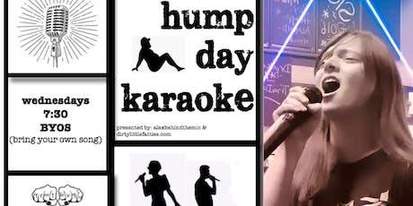 Hump Day Karaoke tickets