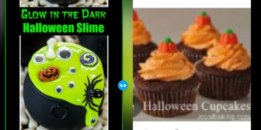 Halloween Slime & Cupcake Making/Costume Contest